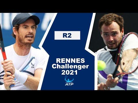 Andy Murray vs Roman Safiullin | RENNES 2021
