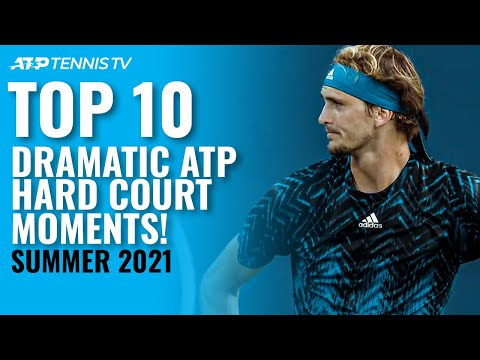 Hard Court Drama: Top 10 Dramatic ATP Tennis Moments From The 2021 Summer!