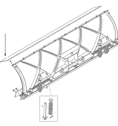 fisher xblade straight blade diagram [ 1000 x 1000 Pixel ]