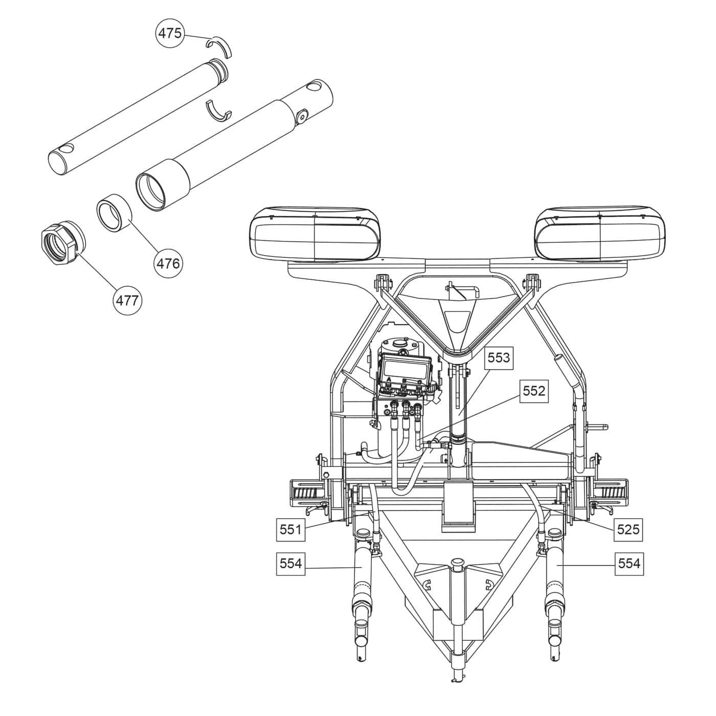 hydraulic ram diagram 99 ford mustang radio wiring fisher xblade hydraulics shop iteparts