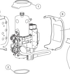 xls hydraulic unit cover assembly diagram [ 1400 x 763 Pixel ]