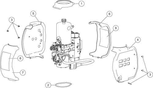 small resolution of xv2 hydraulic unit cover assembly diagram