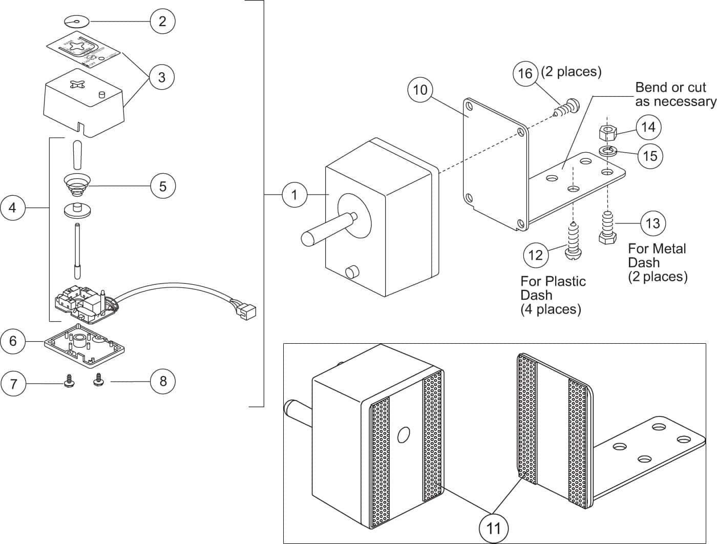 related with motorcycle power distribution block