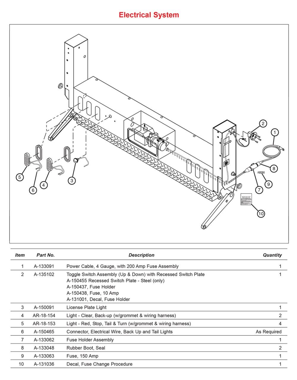 medium resolution of la electrical system diagram
