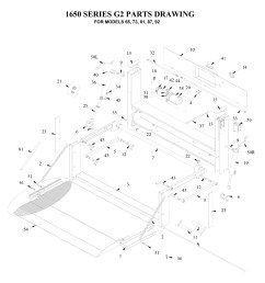 tommy gate g2 series diagram flatbed stake van dump body  [ 1358 x 1400 Pixel ]