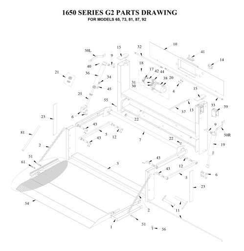 small resolution of tommy gate g2 series diagram flatbed stake van dump body