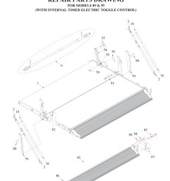 tommy gate railgate series bi fold diagram 2 of 2 flatbed  [ 969 x 1300 Pixel ]