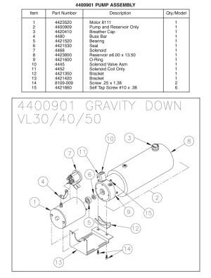 Liftgate Diagrams  Thieman Tailgate Pump Parts  Shop