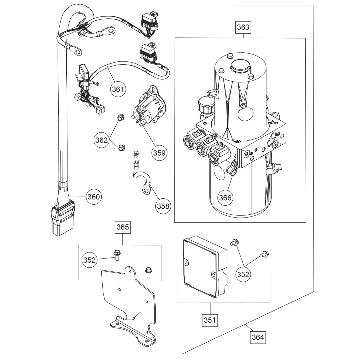 Fisher Xblade Parts Diagram