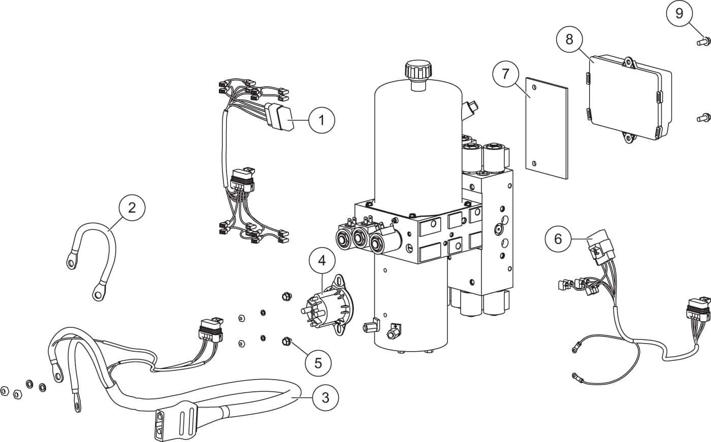 hight resolution of fisher xtremev v plow parts diagram iteparts com rh iteparts com fisher diagram ezv fischer diagram
