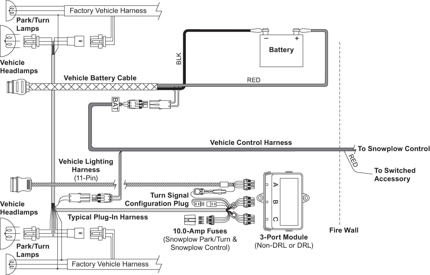 hight resolution of xtremev vehicle side harness diagram 3 port 2 plug