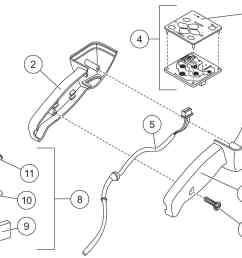 xv2 fish stik hand held control diagram [ 1400 x 1095 Pixel ]