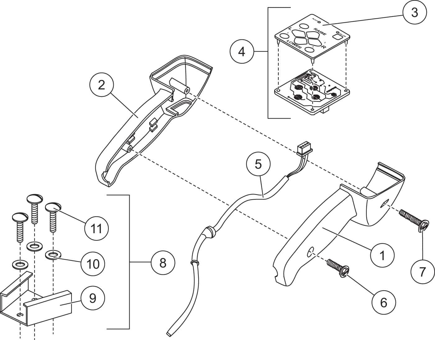 hight resolution of xv2 fish stik hand held control diagram