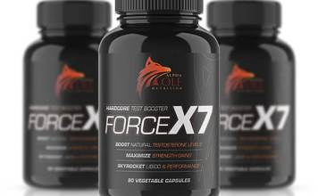 Alpha Wolf Testosterone Force X7