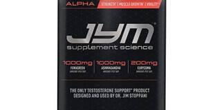 Alpha Jym by Jym Supplement Science