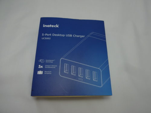 Inatech 5-Port Desktop USB Charger 外箱