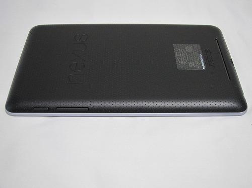 Google Nexus 7 本体右側