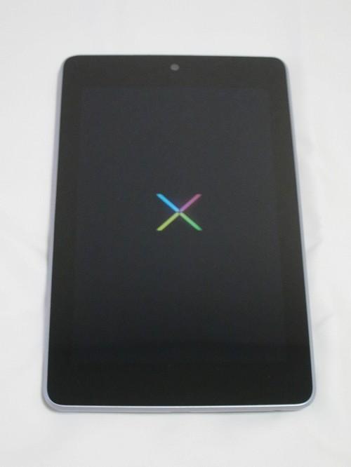 Google Nexus 7 起動中画面
