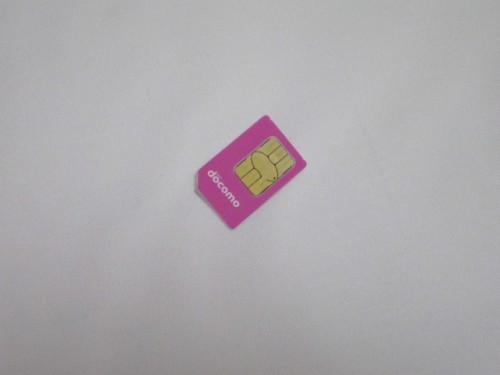 FOMA 旧simカード