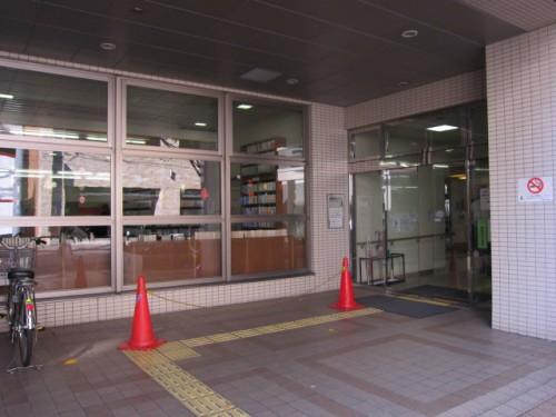 神田まちかど図書館 入口