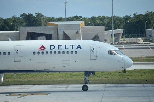 DELTA航空 飛行機