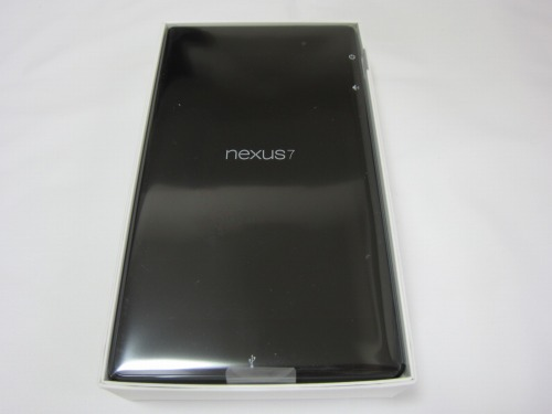 Google Nexus 7 2013 内箱の中