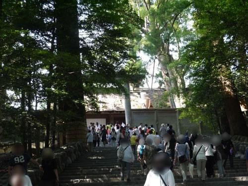 式年遷宮前の正宮