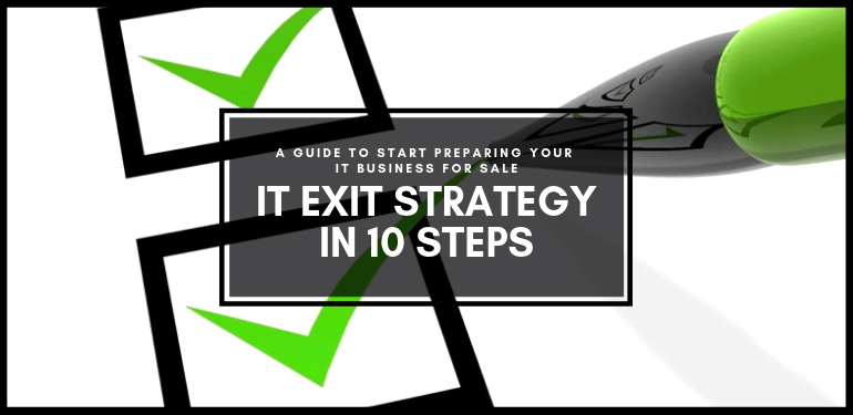 IT Exit Strategy 10 Step Guide