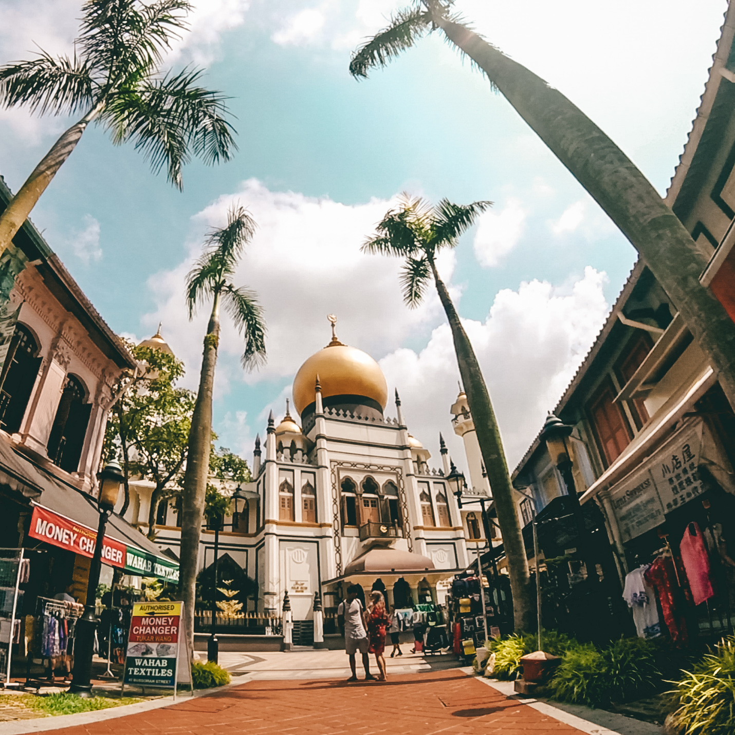 One cheap day in Singapore