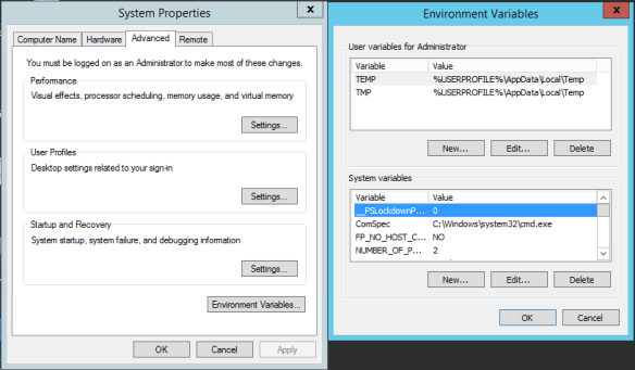 PowerShell Constrained mode - System Properties