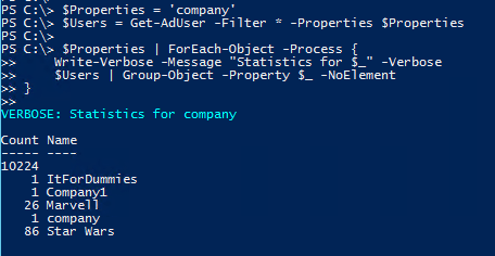 Check Global Address List Compliance PowerShell - Check Correction