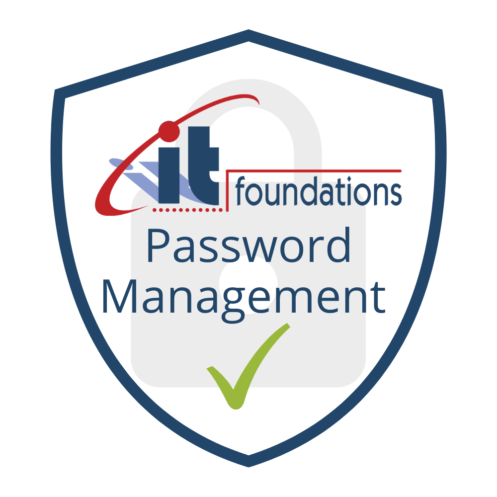 IT Foundations Cybersecurity - Password Management