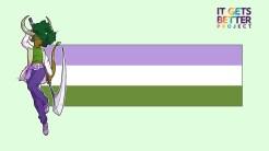 Genderqueer Tiefling