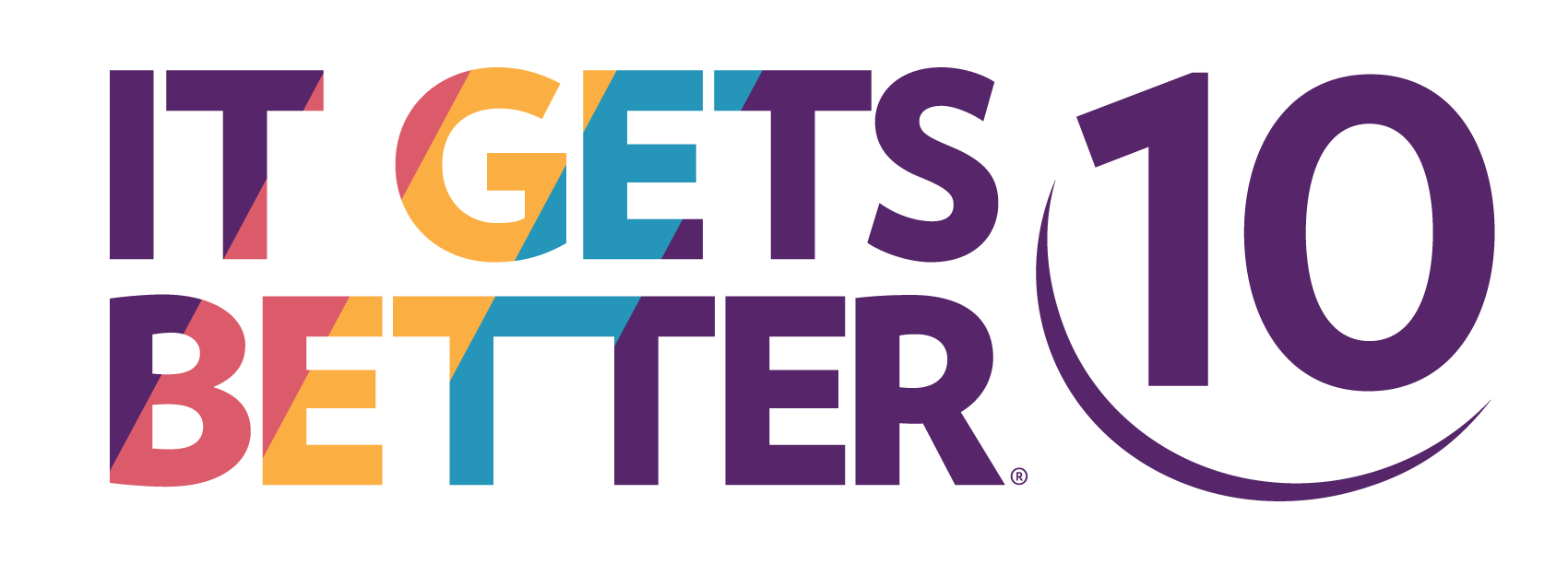 It Gets Better 10th Anniversary Logo