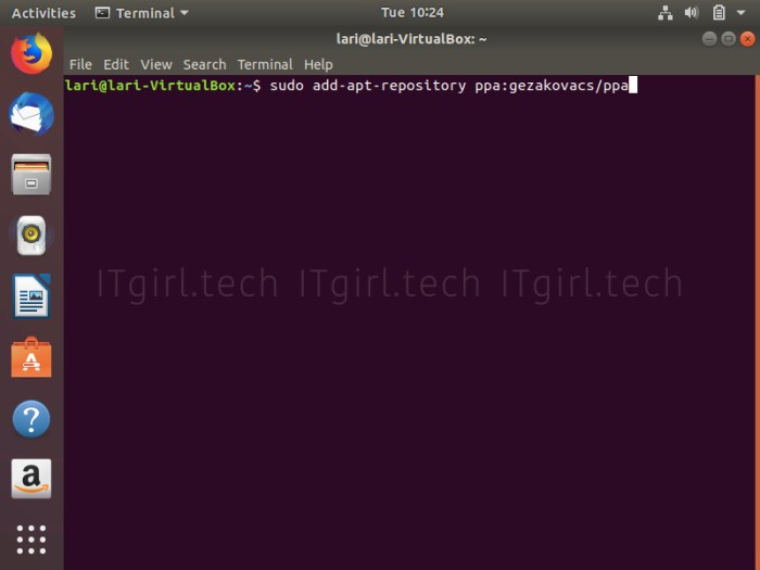 Installing UNetbootin from the command-line