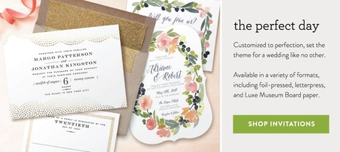 Wedding Invitation Timeline With Basic Invite