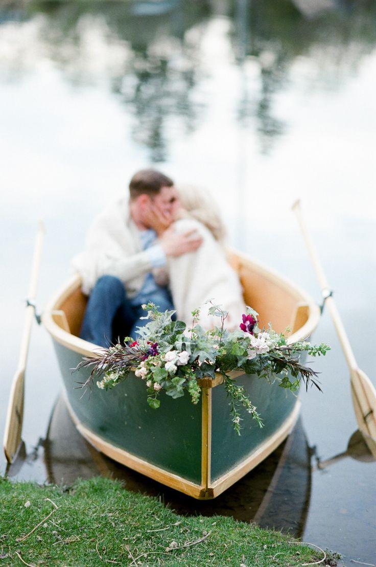 Denver Lakeside Engagement Session  It Girl Weddings