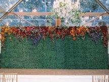 Ombre Flower Wall Wedding Girl Weddings