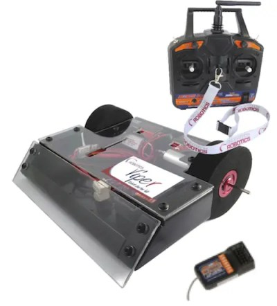 Fingertech viper combat robot kit with Radio Controller - T6A transmitter and TR6A receiver for combat robotics