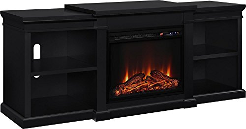 Best Electric Fireplace TV Stand - Ameriwood Home Manchester Electric Fireplace TV Console