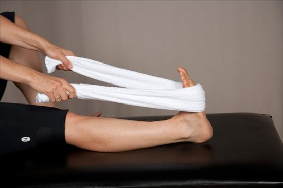 Towel Stretching to heal Plantar fasciitis