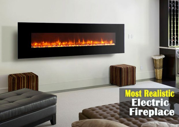 Most Realistic Electric Fireplace