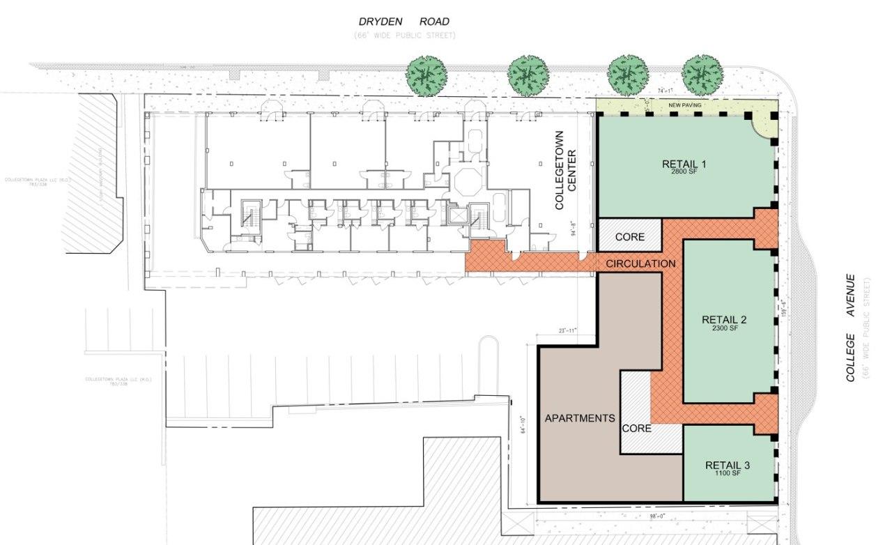 330 College Avenue - Sketch Plan Presentation - 07-22-14