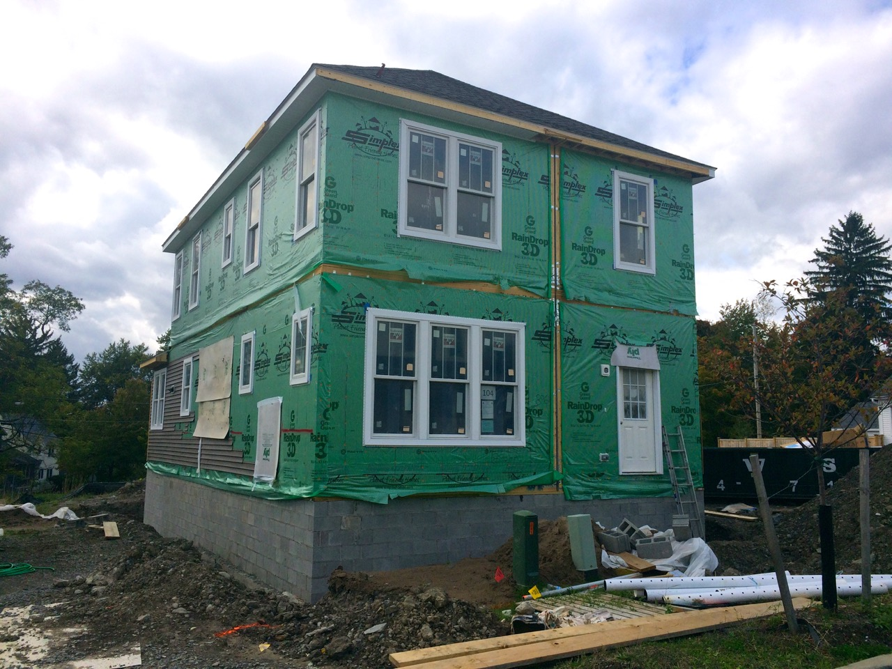 Ithaca Builds 171 Belle Sherman Cottages Photo Update