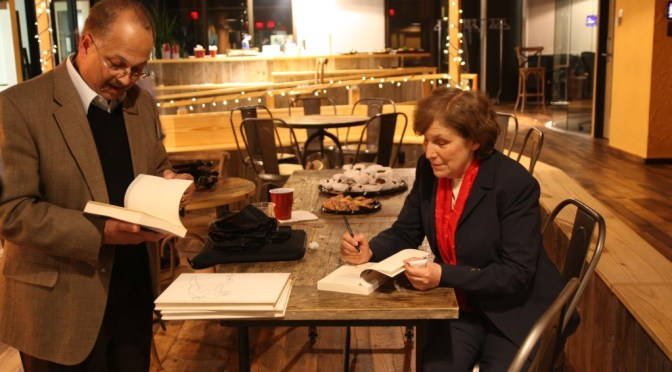 Photos, thanks from Anita Harris, Cornell Club Ithaca Diaries Event, Boston, at last!