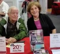 Jim McConkey & Anita Harris, Cornell Booksigning, 6/6/2015