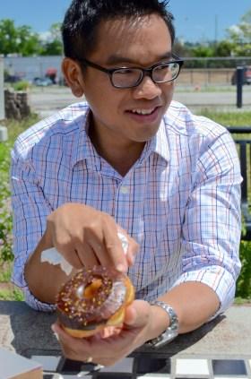 Wegman's Donuts - Chocolate Glazed