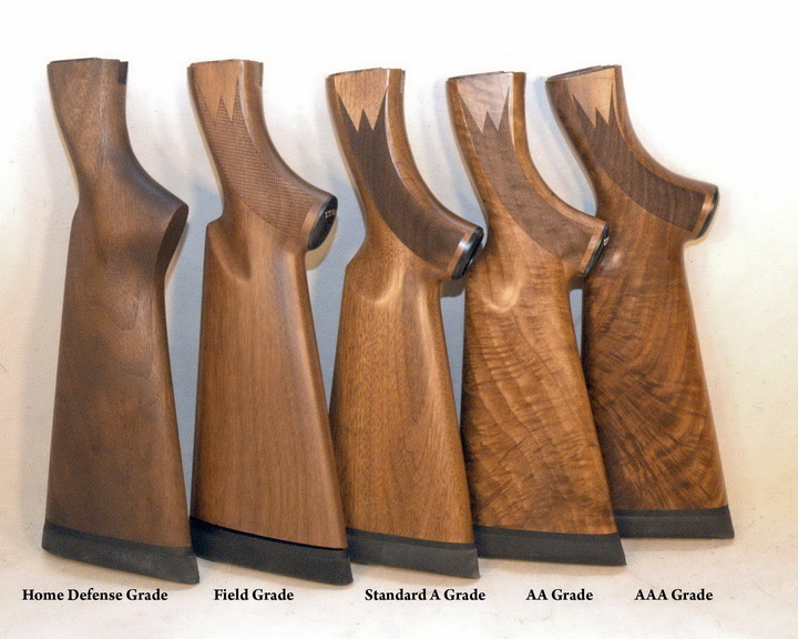 Wood Upgrade: Fancy AA Grade Black Walnut - Ithaca Gun Co.