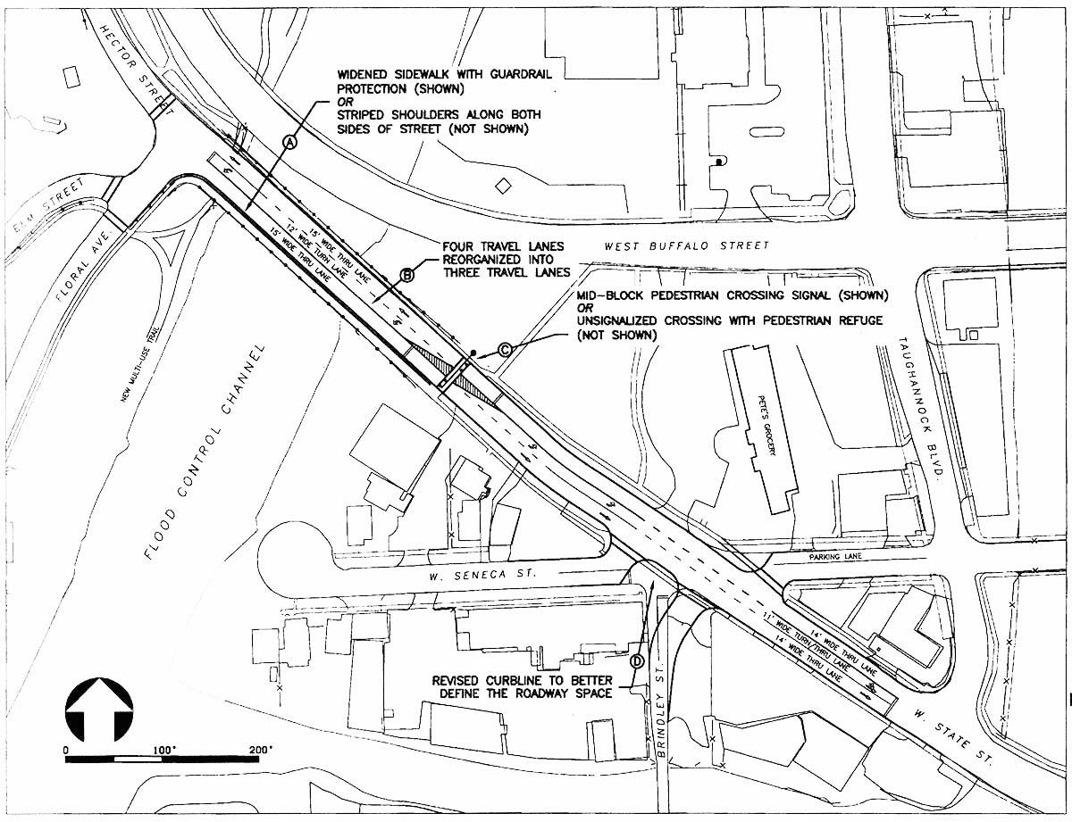 New State St bridge area proposal
