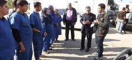 نقابات العمال تجدد مطالبتها برفع أجور عمال النظافة إلى 1000 شيكل